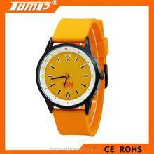 2015 wholesale fashion simple orange sport cartoon watch silicone band