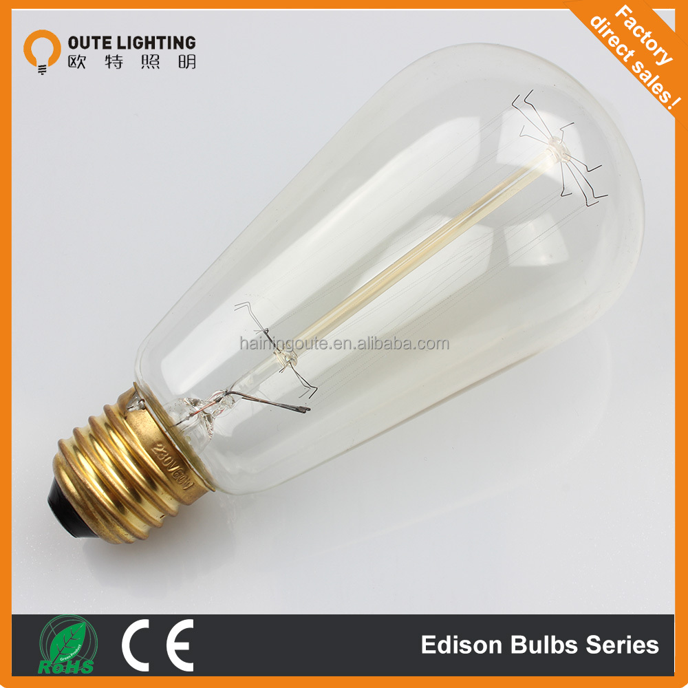 wholesale edison light bulb top quality edison bulb e27. Black Bedroom Furniture Sets. Home Design Ideas