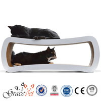 [Grace Pet] Protect your furniture - Large Cardboard Cat Scratcher Sofa