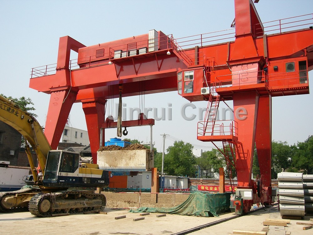 Factory Price Cargo Lift Claw Gantry Crane Machine