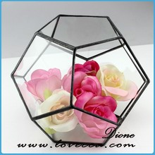 fashion 2015 hot sell stained christmas day glass ball decoration