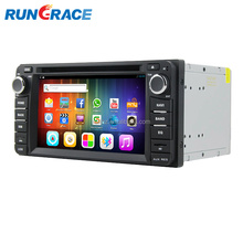universal gps dvd 6.2 inch Android toyota innova car audio system