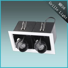 2*6W high power double head LED venture lamp