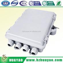 Waterproof Fiber optic distribution box & 24 core 12 core multi single mode fiber optic cable splicing kit box