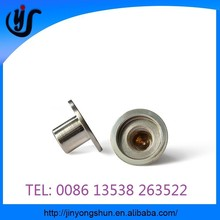 Custom CNC turning parts, precision brass machining adapters parts