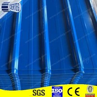 Zinc/Aluzinc/color coated corrugated roofing sheets
