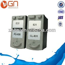 Remanufactured ink cartridge PG-830 CL-831 For Canon PIXMA IP1180,1880,1800,1980,2580,2680