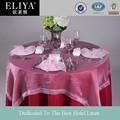 Eliya de casamento de luxo toalha de mesa/guardanapos/anel de guardanapo/tampa da cadeira
