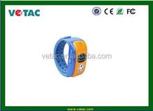 rechargeable child gps tracker bracelet