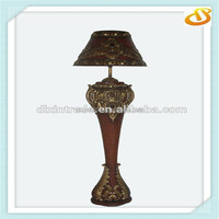 hand painting antique floor lamp
