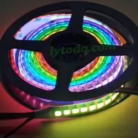 AP102 dream color led strip with 144pcs led per meter, magic dream color led strip