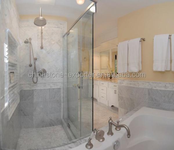 Marbre blanc pour salle de bains tuiles, Statuarietto made