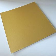 tableros de la torta de hojas de oro