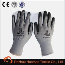 13g nylon nitrile glove/car fix glove/nitrile coated glove
