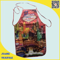 Wholesale online shopping Cotton fabric Christmas funny BBQ Apron