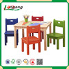 KD stackable study kid chair of solid beech wood hot sale in 2015 BC-K/D1001