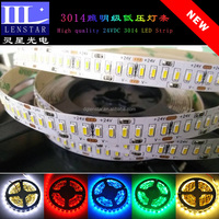 Hot sale 240PCS of high brightness SMD 3014 LED per meter high quality 24VDC Non-waterproof type Flexible LED Strip