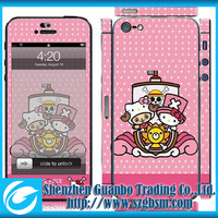 for IPHONE5 skin , color epoxy skin for IPHONE5