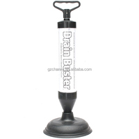 New Arrvial!!! Powerful Toilet Bath Tub Shower Sink Drain Clog Suction Buster Plunger Remover Excellent Quality