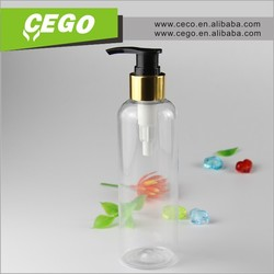 2015 new arrival! plastic bottle with pump dispenser,2 oz plastic bottle,50ml pet detergent plastic bottle