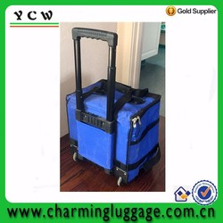 12 Can drink pocket customized trolley cooler bag