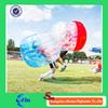 Half color bubble soccer PVC/ TPU human sized soccer bubble ball plastic bubble ball for sale