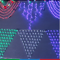 commercial holiday time super bright outdoor triangle led net light