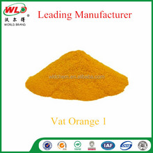 Basic Dyes/Vat dye Golden Yellow RK/C.I. Vat Orange 1