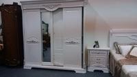 white romantic classic bedroom sets,model no F060