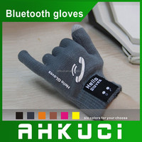 Newest Quality Knitted Bluetooth Winter Talking Hand Gloves Hands-freeTouch Screen Bluetooth Gloves
