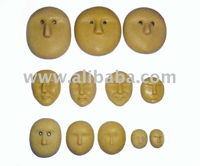 3d faccia bambola stampo per 3d bambola