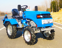 New design hot sale Mini Tractor with plow from china