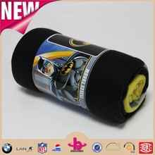 Competitive price high quality super soft character printed polar fleece throw /roll polar fleece blanket wholesale