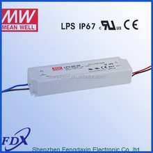 Meanwell LPV-60-12 stage light led driver,theater lighting LED driver ip 67