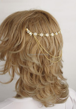 H50037 pearl and crystal fashion jewelry men beaded headbands