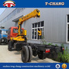 hot sale 8tons small telescopic boom truck mobile crane for sale with ISO9001 certification