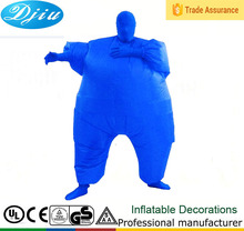 DJ-CO-146 Costume Inflatable Full Body Suit blimpz Costume Blue Standard