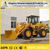 HR938 Large constrction wheel loaders agriculture loaders with concrete mixer