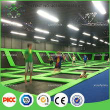 Professional Basketball Trampoline Park Equipment