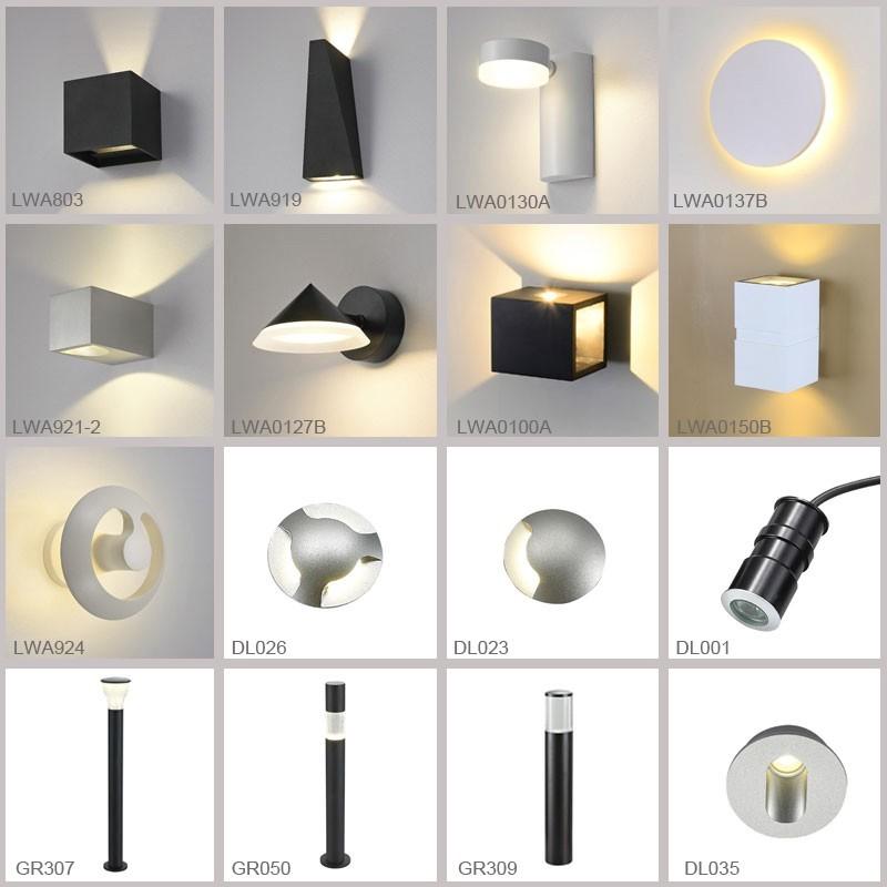 8 + 1) * 4 w led de interior moderno salón/vestíbulo lámpara del ...