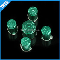 Replacement parts metal aluminum green guide button kits for Xbox360 wireless controller