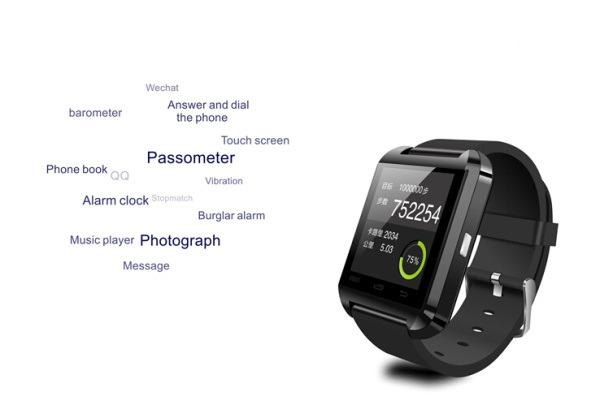 Wholesale bluetooth sport vogue watch ,calling android 4.0 watch