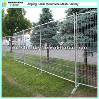 HDG strength and durability security perimeter mobile fence