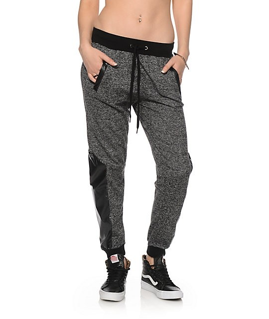Amazing Womens  Lite Joggers In Chrome Marl  Superdry