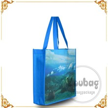 100% recycled bottle RPET shopping bag tote non woven laminated bag,laminated RPET non woven bag