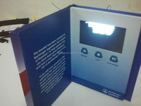 New Promotional Items LCD Video Greeting Card with Logo Printing
