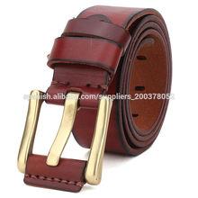 de cuero genuino dama's cinturón