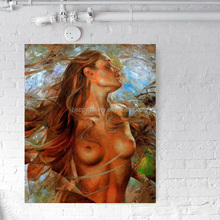 Abstract paintings nude chinese girls