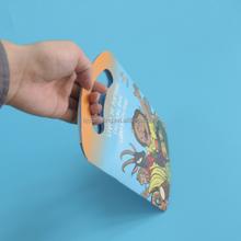 Low quantity A4 full color 210g art card digital saddle binding book printing