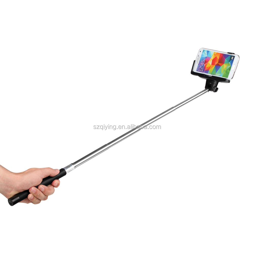 monopod selfie stick bluetooth remote shutter stick for cell phone buy monopod selfie stick. Black Bedroom Furniture Sets. Home Design Ideas